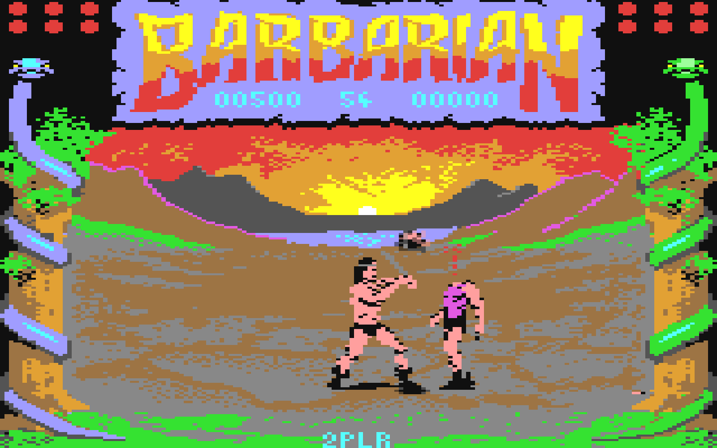 Screenshot from: Barbarian game