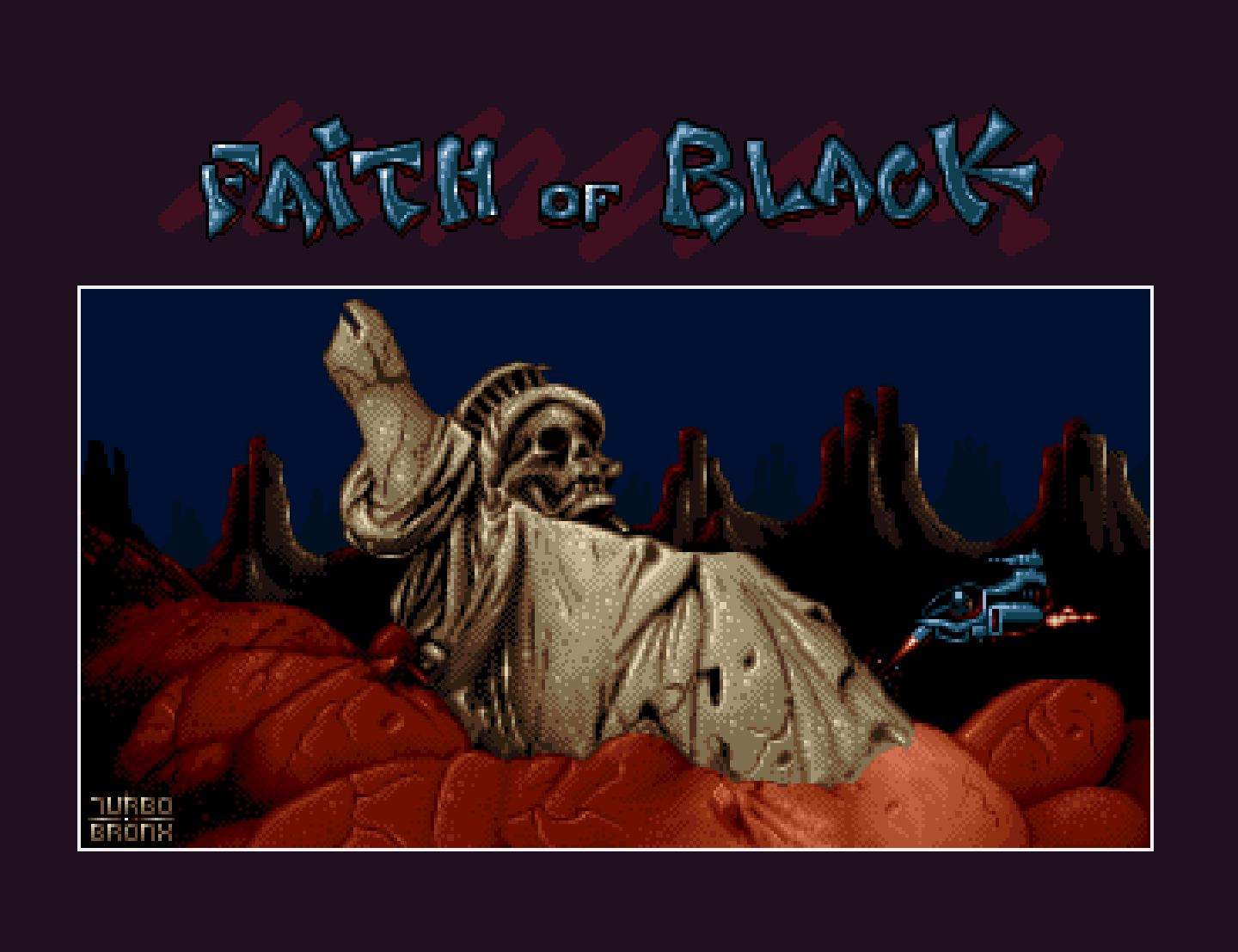 Amiga screenshot: Bronx, Faith of Black